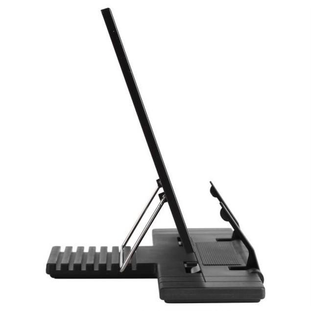 Portable Steel Book Stand, Adjustable Frame Reading Desk Holder