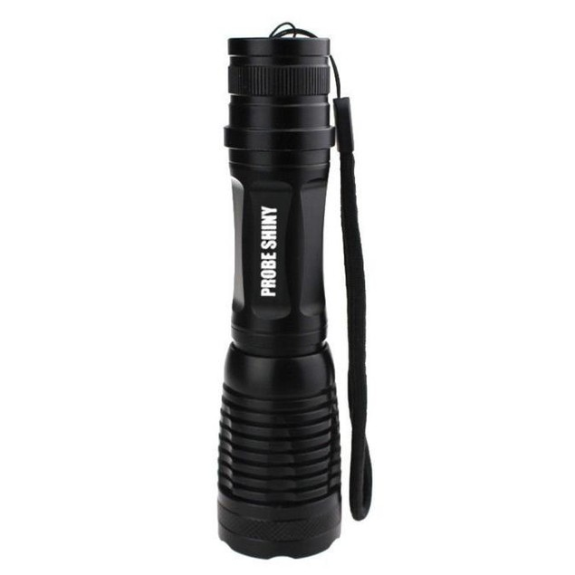 5000LM XM-L T6 LED Tactical Zoomable Flashlight +18650 + Charger