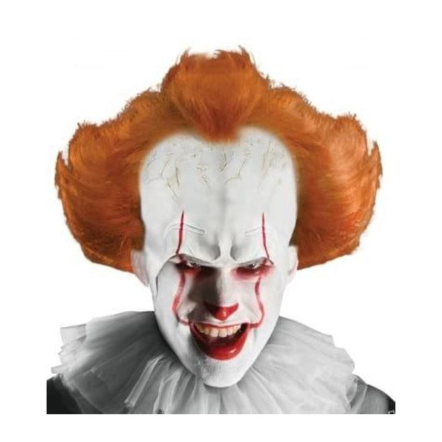 IT Pennywise Adult  Wig with Attached Headpiece