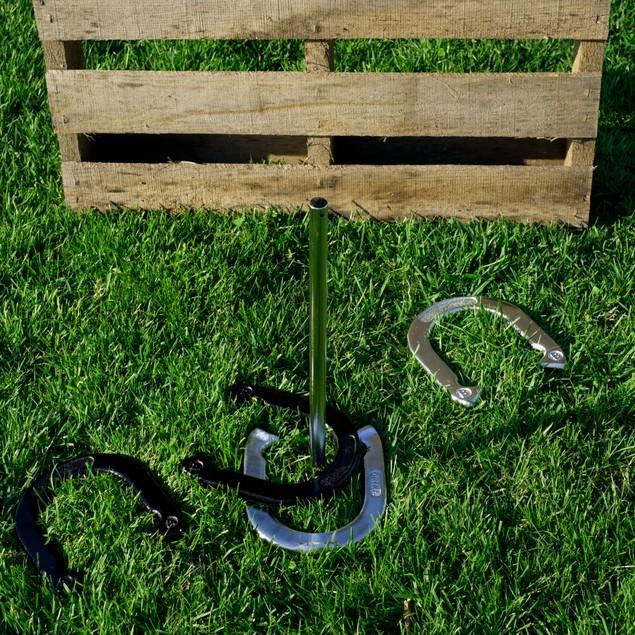 Trademark Games Professional Horseshoe Set - Heavy Duty