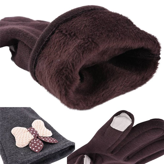 Women's Winter Warm Windstopper Screen Touch Gloves