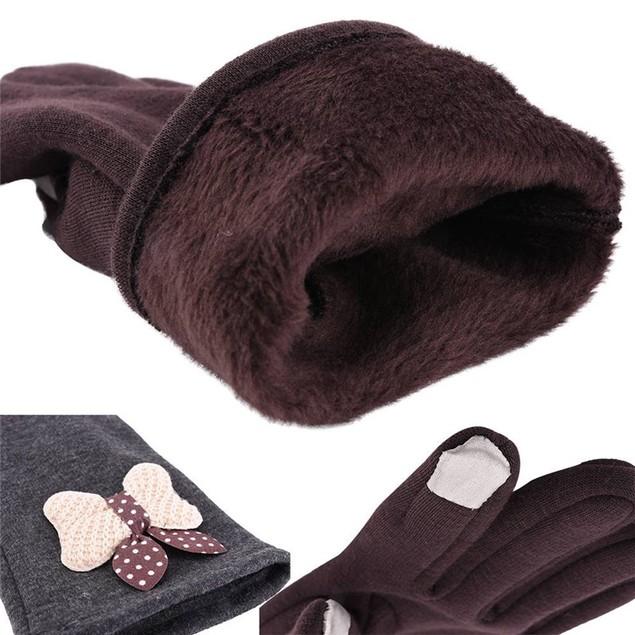 Women's Winter Warm Windstopper Screen Touch Gloves