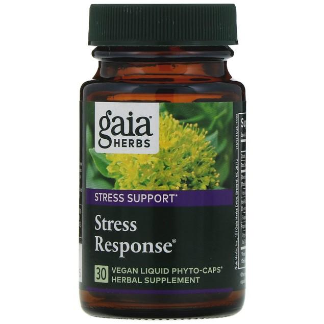 Gaia Herbs Gaia DailyWellness Stress Response, 30 ea