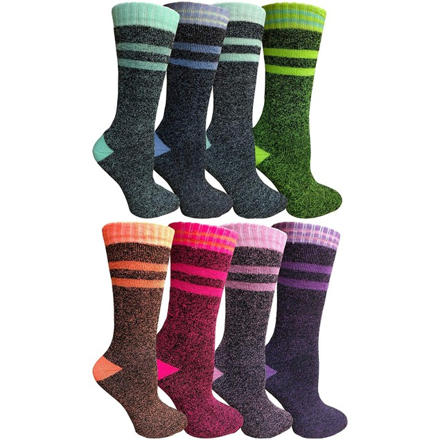 8-Pairs Women's Thermal Over-the-Calf Socks