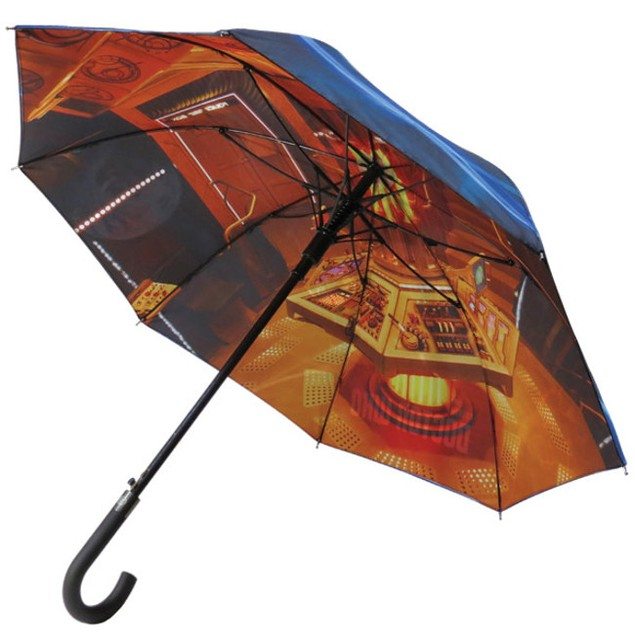 "Doctor Who Tardis Umbrella Police Box 39"" BBC Votex 12th Accessory"
