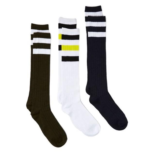12 Pairs Women's Knee High Socks