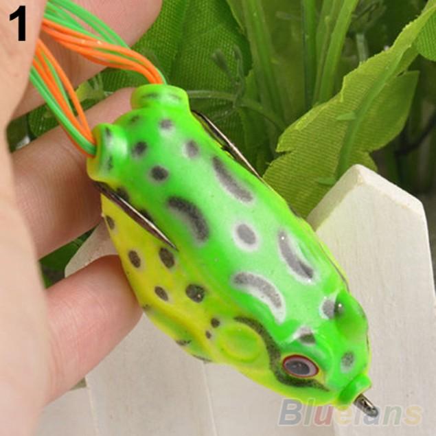 Creative Large Frog Topwater Fishing Lure