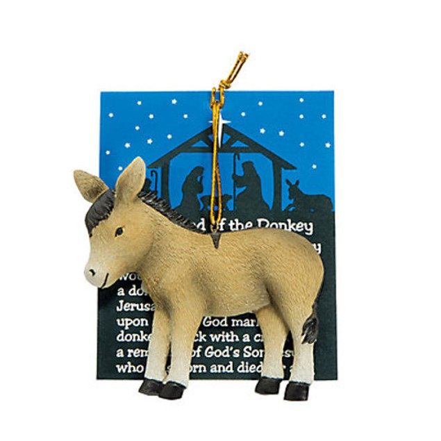 Legend of the Donkey Christmas Ornament Tree Xmas Decoration
