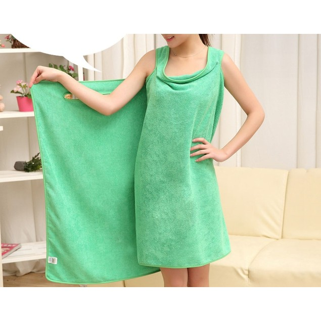 Womens Wearable Absorbent Microfiber Towel