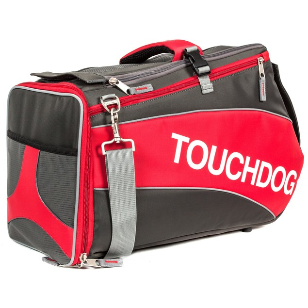 Touchdog Modern-Glide Airline Approved Water-Resistant Dog Carrier