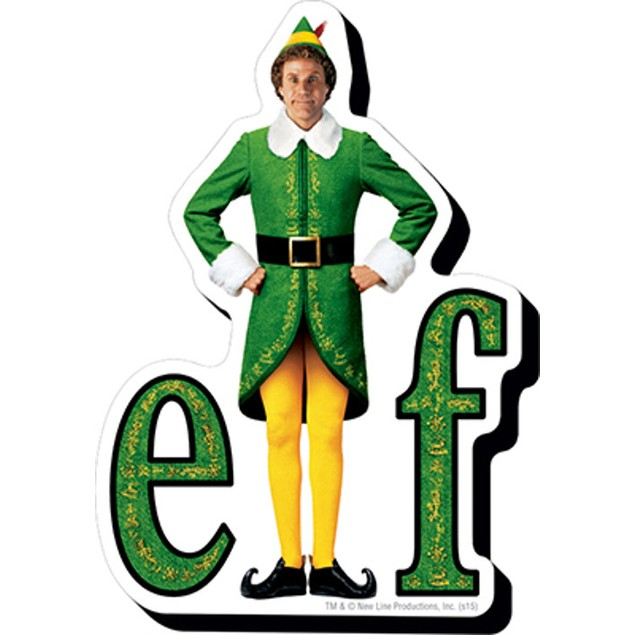 Elf Logo Funky Chunky Magnet Elf Movie Christmas Holidays Xmas Will Ferrell