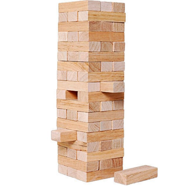 Tumbling Tower Game, Classic Games by Go! Games