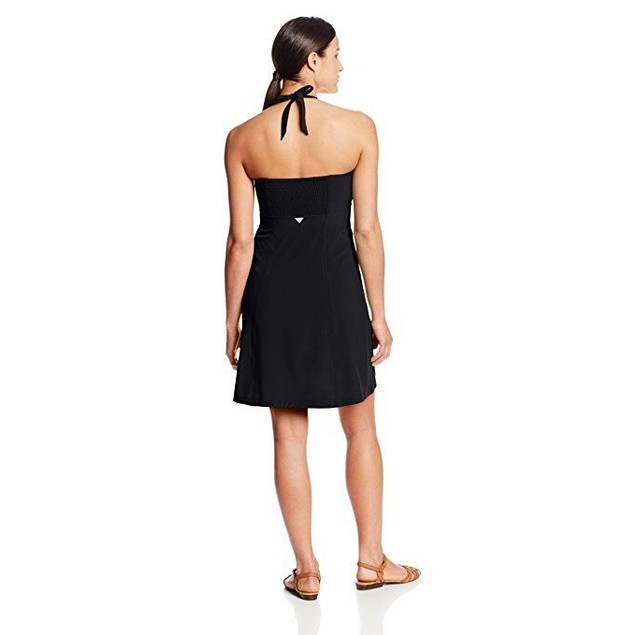Columbia Women's Armadale Halter Top Dress, Black, SZ: X-Small