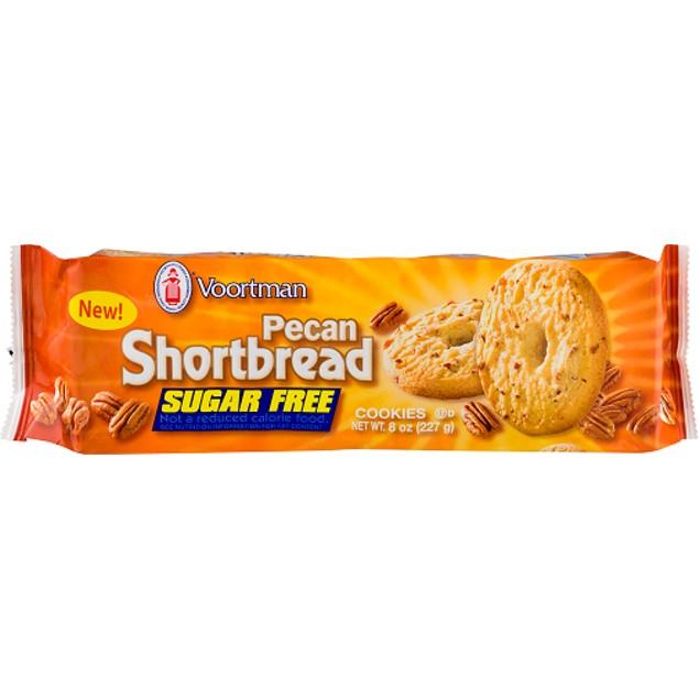 Voortman Pecan Shortbread Sugar Free Cookies