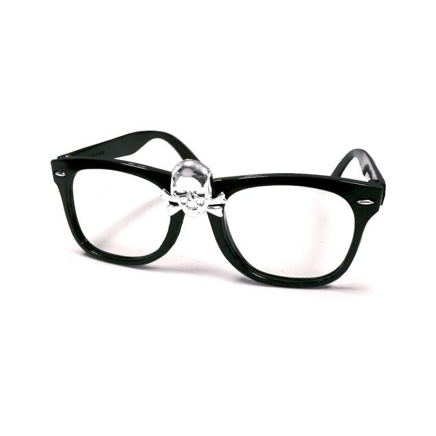 "Rick ""Wild Thing"" Vaughn Skull Glasses"