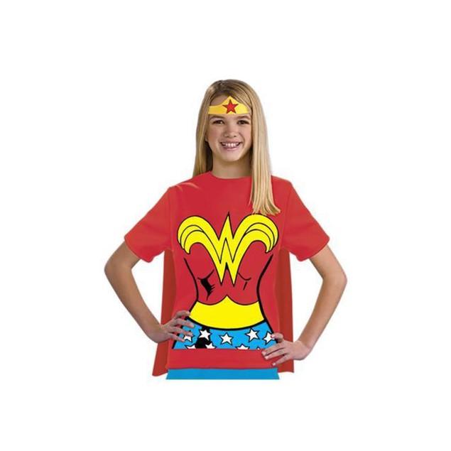 Kids Wonder Woman T-Shirt Costume
