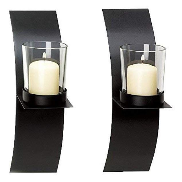 Candle Holder Modern Minimalist Art (Sconces Holder)