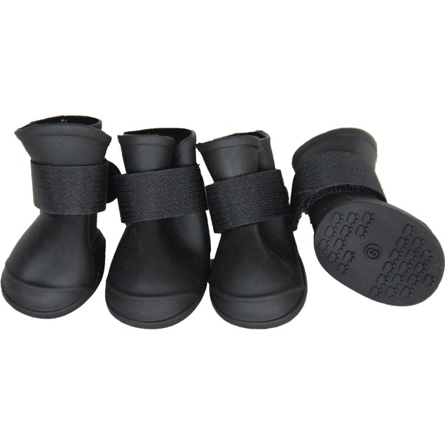 Protective Multi Usage All Terrain Rubberized Dog Shoes