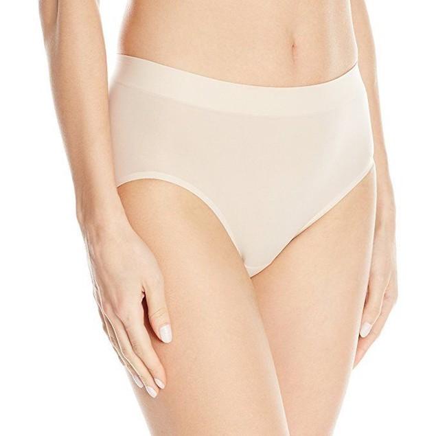 Wacoal Women's Skin Sense Hi Cut Brief Panty, Sand, SZ  Large