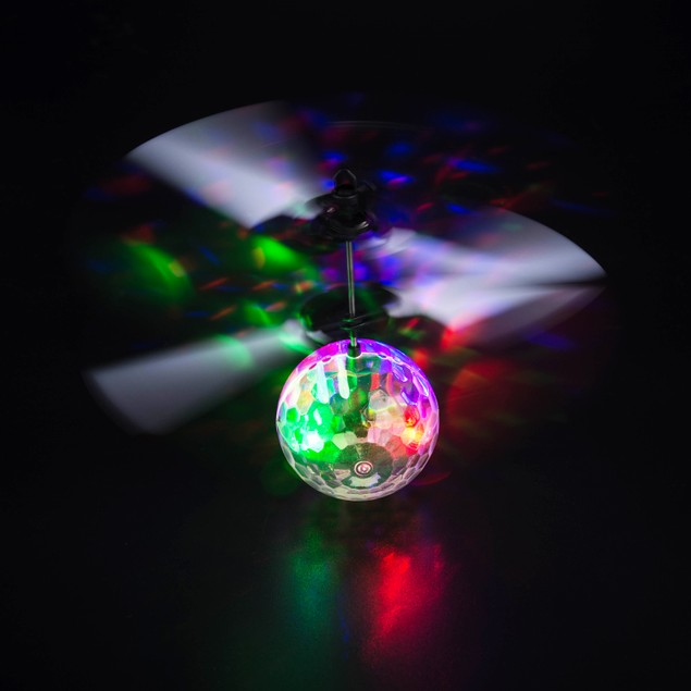 Magic Electric Infrared Sensor Flying Ball Helicopter LED Light Toy