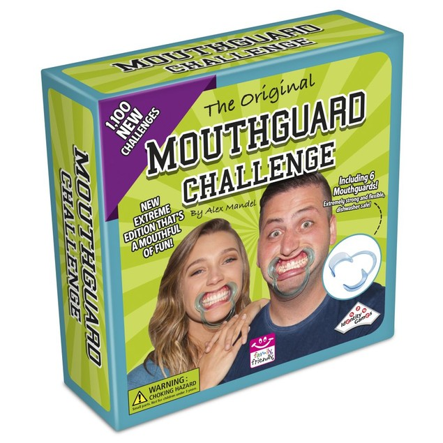 Extreme Mouthguard Challenge Game, Adult Games by Identity Games Intl USA (