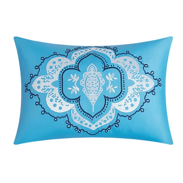 Chic Home 3/4 Pc Martinique 100% Cotton Bohemian Medallion Quilt Set