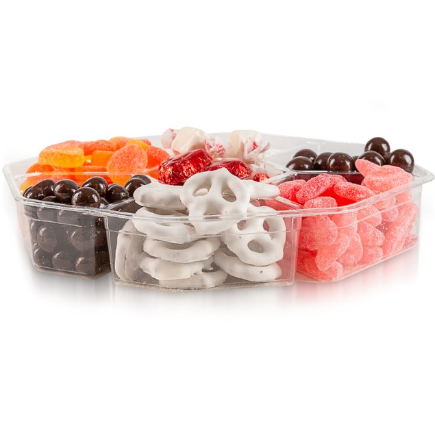 Goodies Gourmet Seven Section Tray