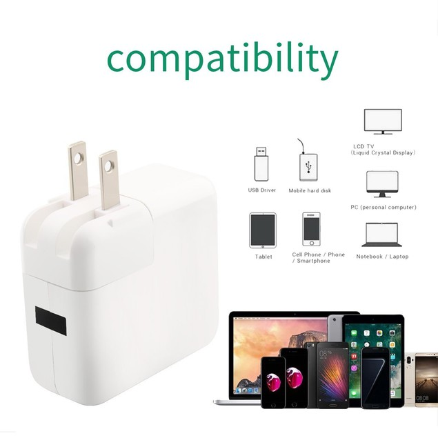 4-Port USB 40W Universal Wall Charger for Smartphones