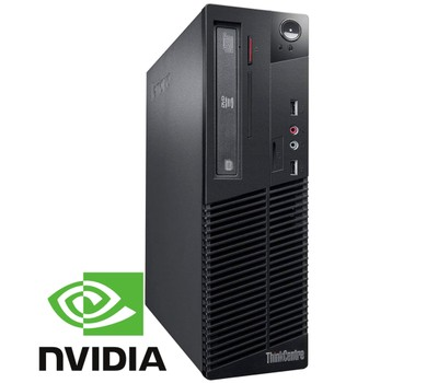 Lenovo ThinkCentre M79 Gaming Desktop (3.5 GHz, 8GB RAM, 500GB HDD) Was: $349.99 Now: $299.99.