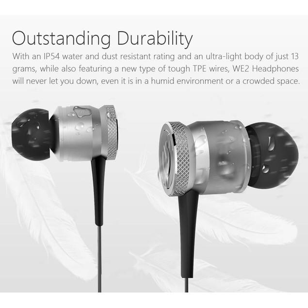 JAKCOM WE2 Wearable Bluetooth Earphone Noise Cancelling Wireless Earbud