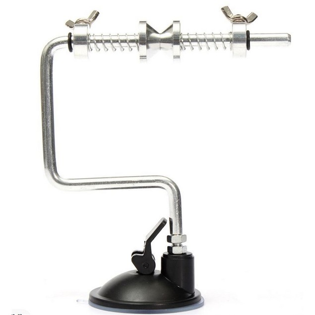 12cm x 15cm Portable Aluminum Fishing Line Winder Reel Spool Spoole