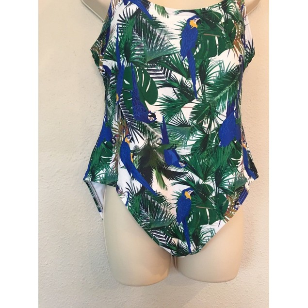 Unique Vintage Womens Mrs. Parker One Piece Swimsuit SIZE XL