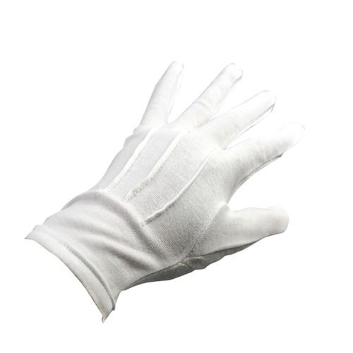 White Formal Gloves Tuxedo Honor Guard Parade Santa Men Inspection Gloves