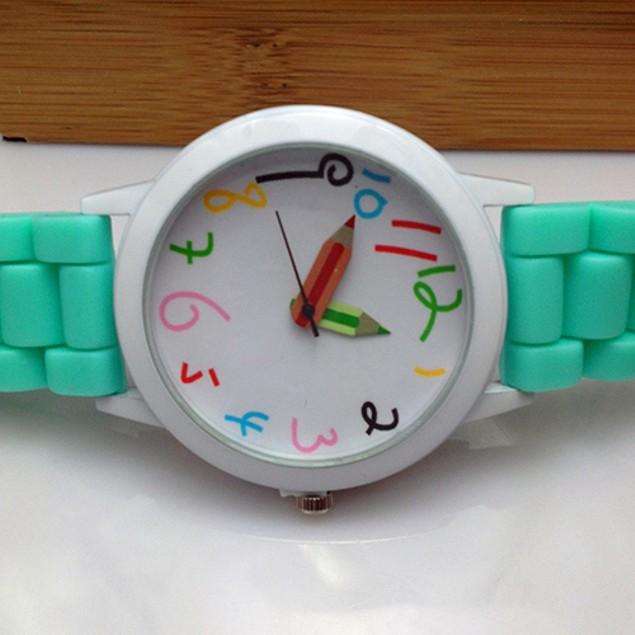 Unisex Students Fashion Jewelry Quartz All-Match Wrist Watch