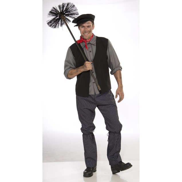 Chimney Sweep Costume Bert Mary Poppins Disney Fancy Dick Van Dyke Adult
