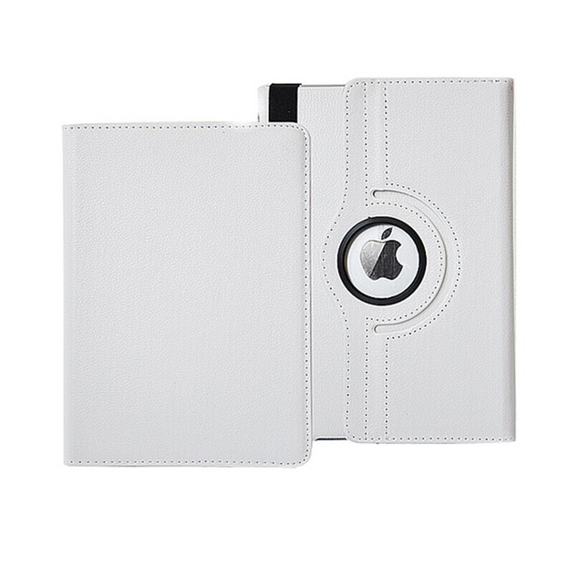"""iPM 360 Degree Rotary Stand PU Leather Case For iPad Pro (12.9"""") - White"""