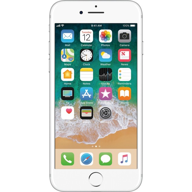 "Apple iPhone 7 32GB 4.7"" 4G LTE Verizon Unlocked,Silver (Refurbished)"
