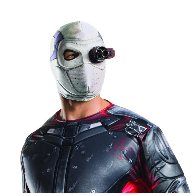 DeadShot Light Up Mask Suicide Squad Will Smith DC Villain Superhero Movie