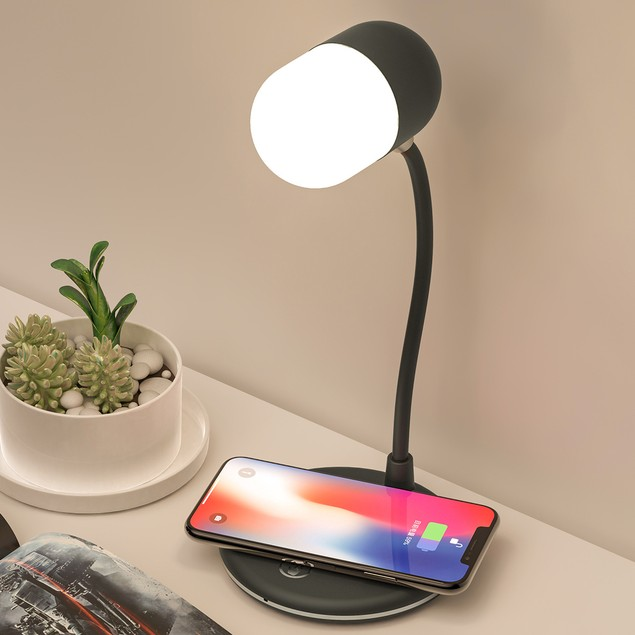 Silicone Wireless Lamp with Adjustable Brightness
