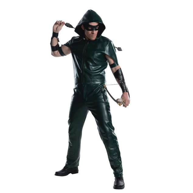 Green Arrow Costume Oliver Queen Oli Ollie DC Comics CW TV Show Arrowverse