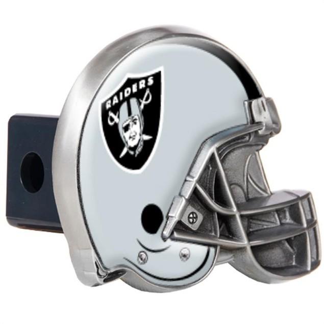 Oakland Raiders Helmet Hitch Cover NFL Metal Tow Truck Cap Plug