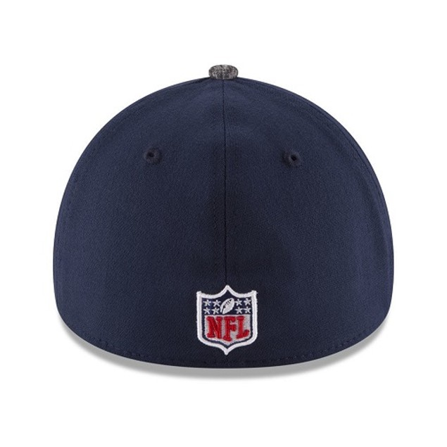 Seattle Seahawks NFL New Era 39Thirty Draft Reverse Stretch Fitted Hat