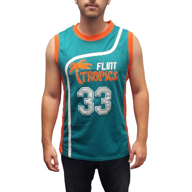 Jackie Moon #33 Flint Tropics Green Basketball Jersey