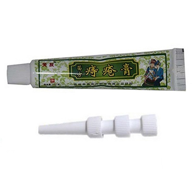 Hemorrhoids Treatment Ointment Cream No Pain with 3Pushers