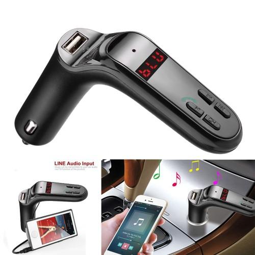 USB Charger Bluetooth Handsfree Car Kit Radio MP3 Music Player FM Transmitter