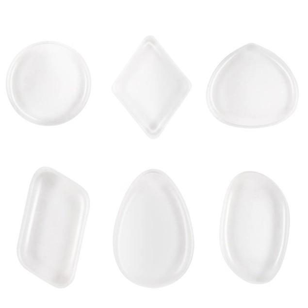 Foundation Powder Clear Silicone Makeup Sponge