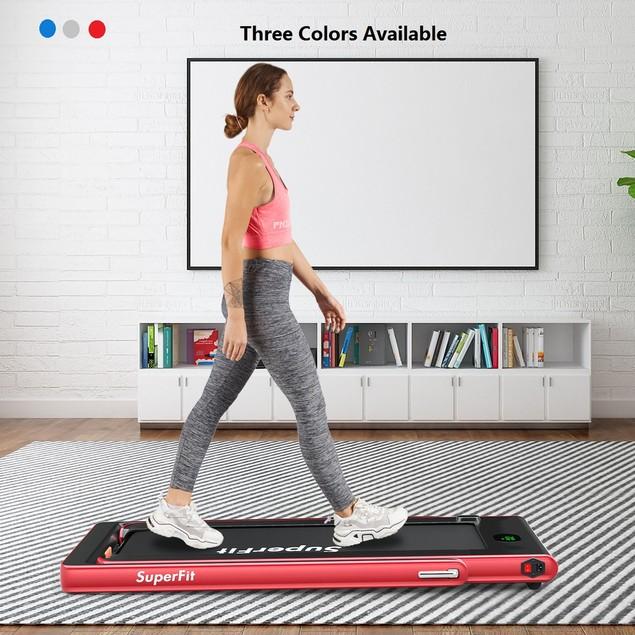 Superfit 2.25HP 2 in 1 Folding Treadmill W/Bluetooth Speaker Remote Control