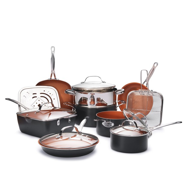 Gotham Steel Essential All in One Cookware and Bakeware 20 Piece Set