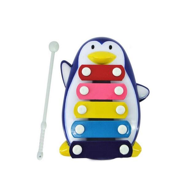 Baby Kid 5-Note Xylophone Musical Toys Wisdom Development Penguin