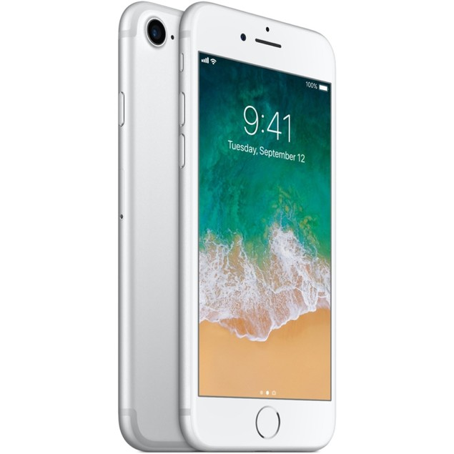Apple iPhone 7 32GB AT&T iOS,Silver(Scratch and Dent)